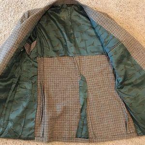 gilbertson Suits & Blazers - 42 Reg vintage Scottish Tweed Plaid Wool Suit